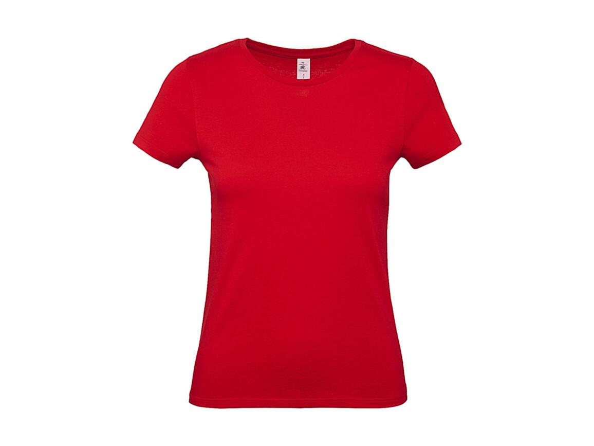 B & C #E150 /women T-Shirt, Red, S bedrucken, Art.-Nr. 016424003