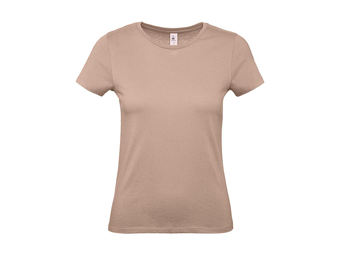 B & C #E150 /women T-Shirt, Millenial Pink, M bedrucken, Art.-Nr. 016424314