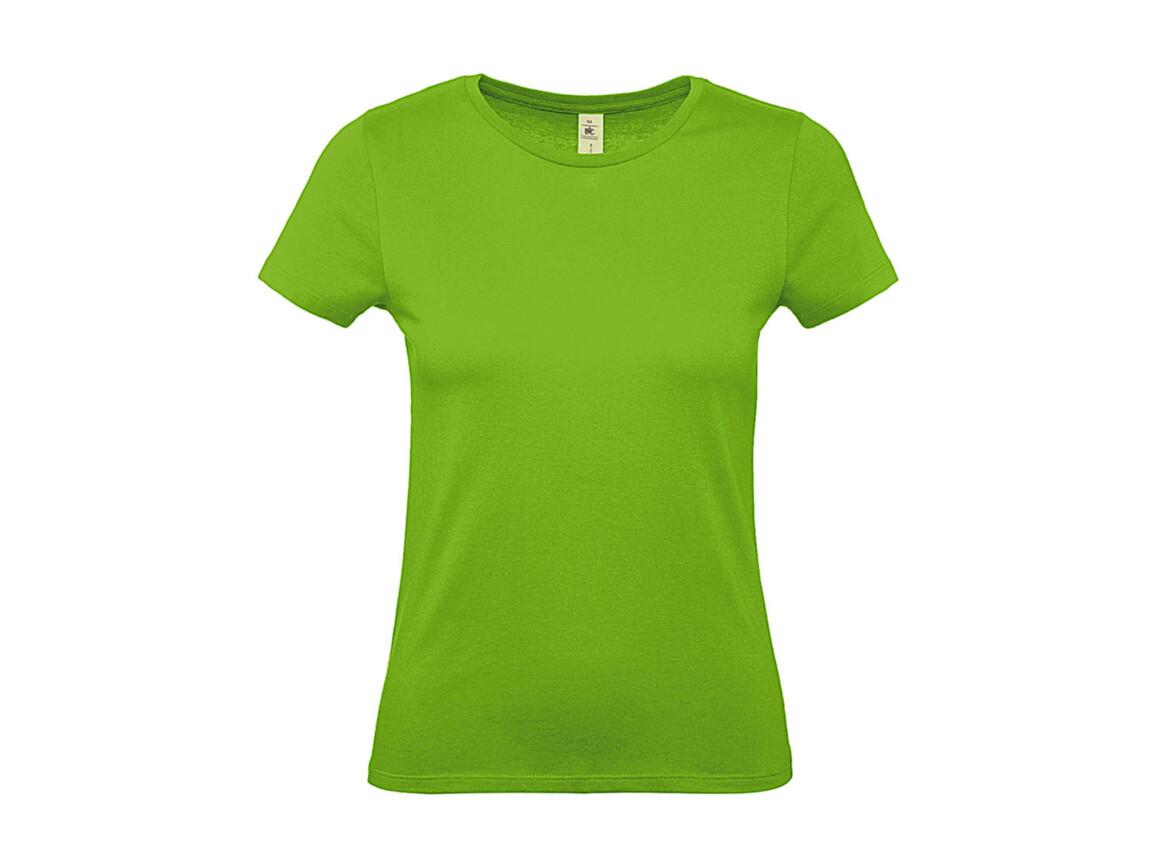 B & C #E150 /women T-Shirt, Orchid Green, S bedrucken, Art.-Nr. 016425063