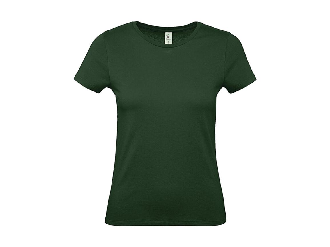 B & C #E150 /women T-Shirt, Bottle Green, 2XL bedrucken, Art.-Nr. 016425407
