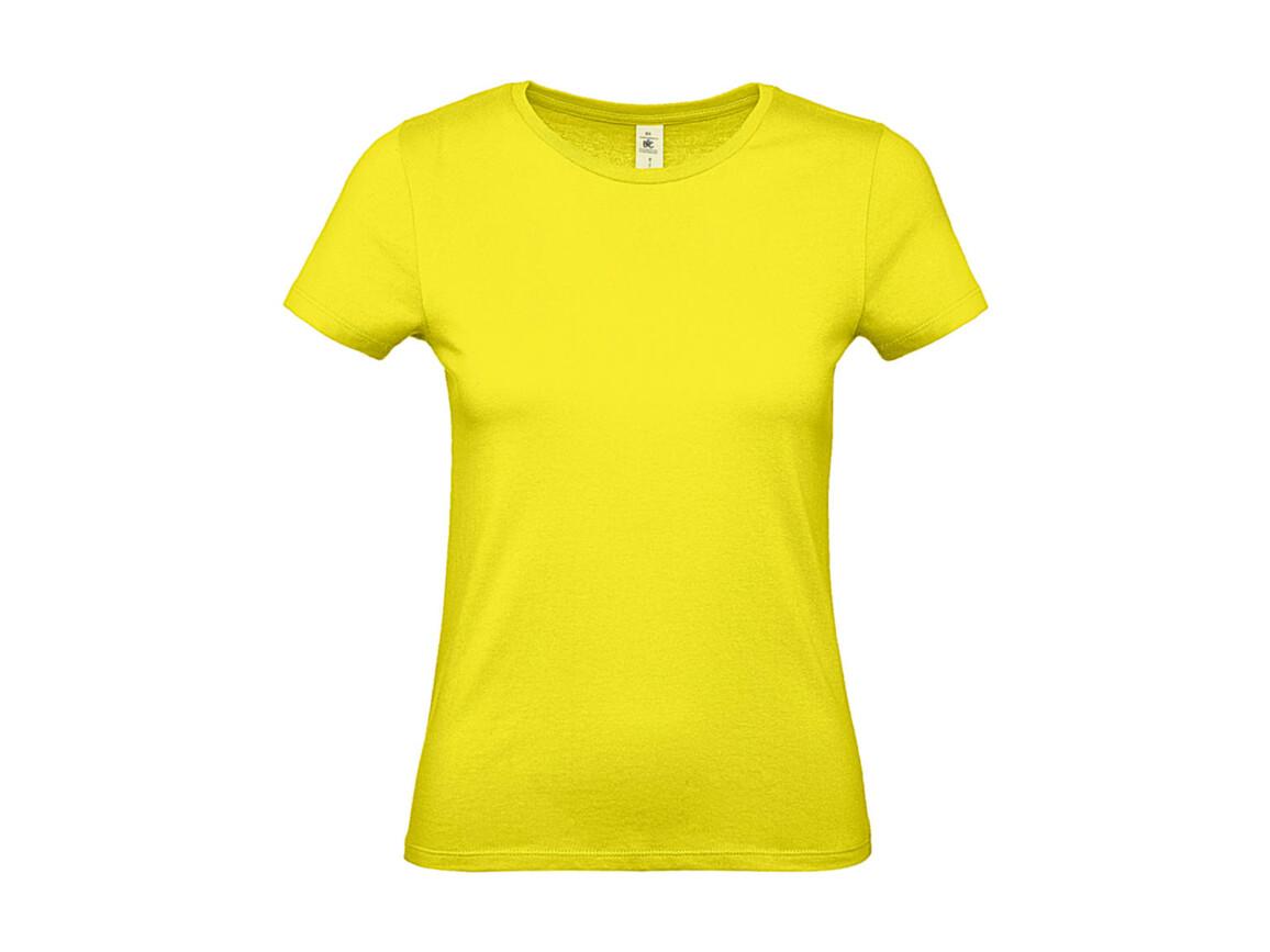 B & C #E150 /women T-Shirt, Solar Yellow, 2XL bedrucken, Art.-Nr. 016426077