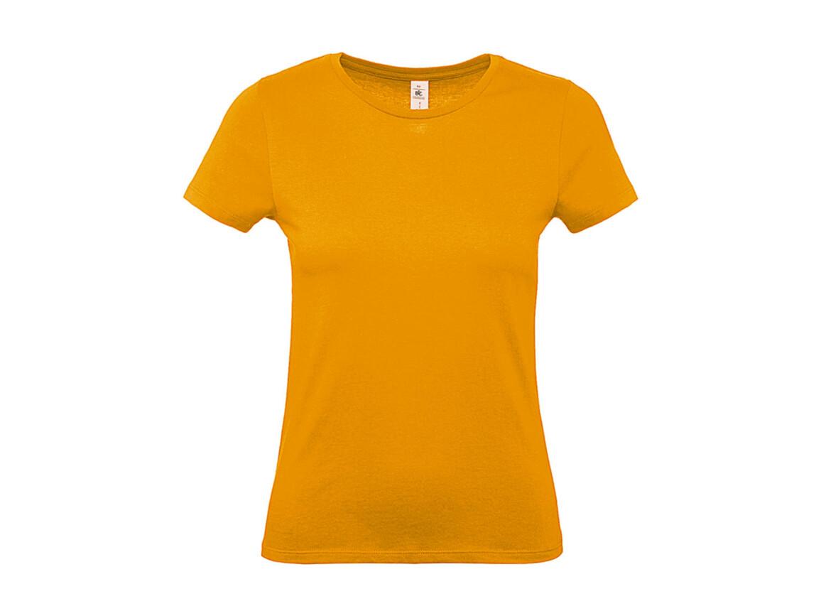 B & C #E150 /women T-Shirt, Apricot, S bedrucken, Art.-Nr. 016426233