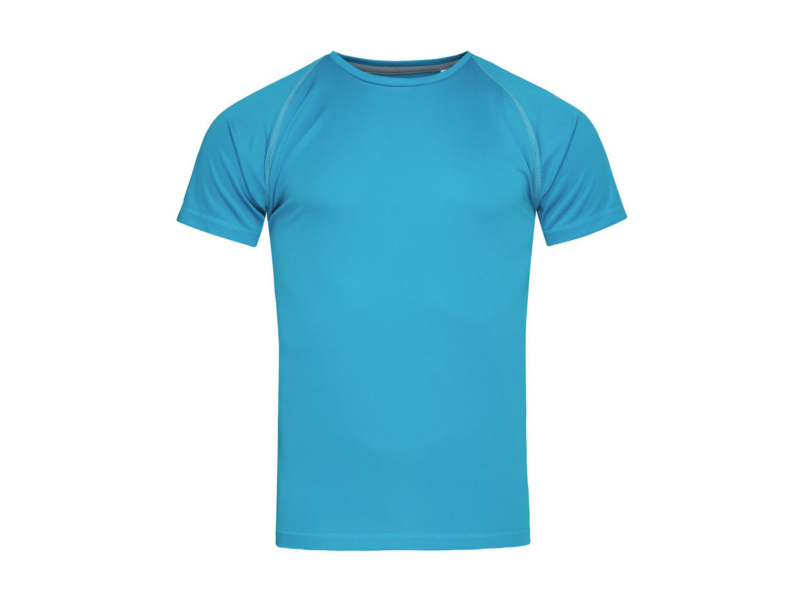 Stedman Active Team Raglan Men, Hawaii Blue, L bedrucken, Art.-Nr. 020053165