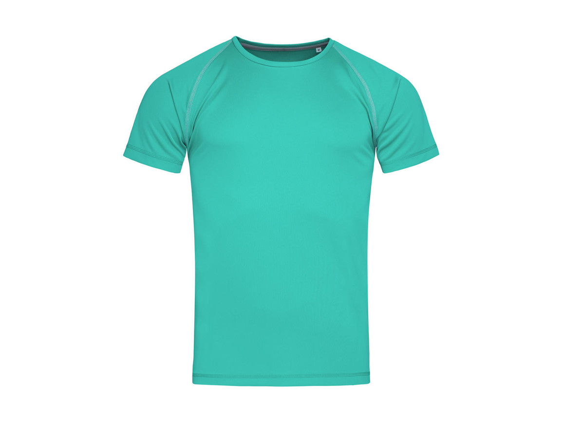 Stedman Active Team Raglan Men, Bahama Green, S bedrucken, Art.-Nr. 020055203