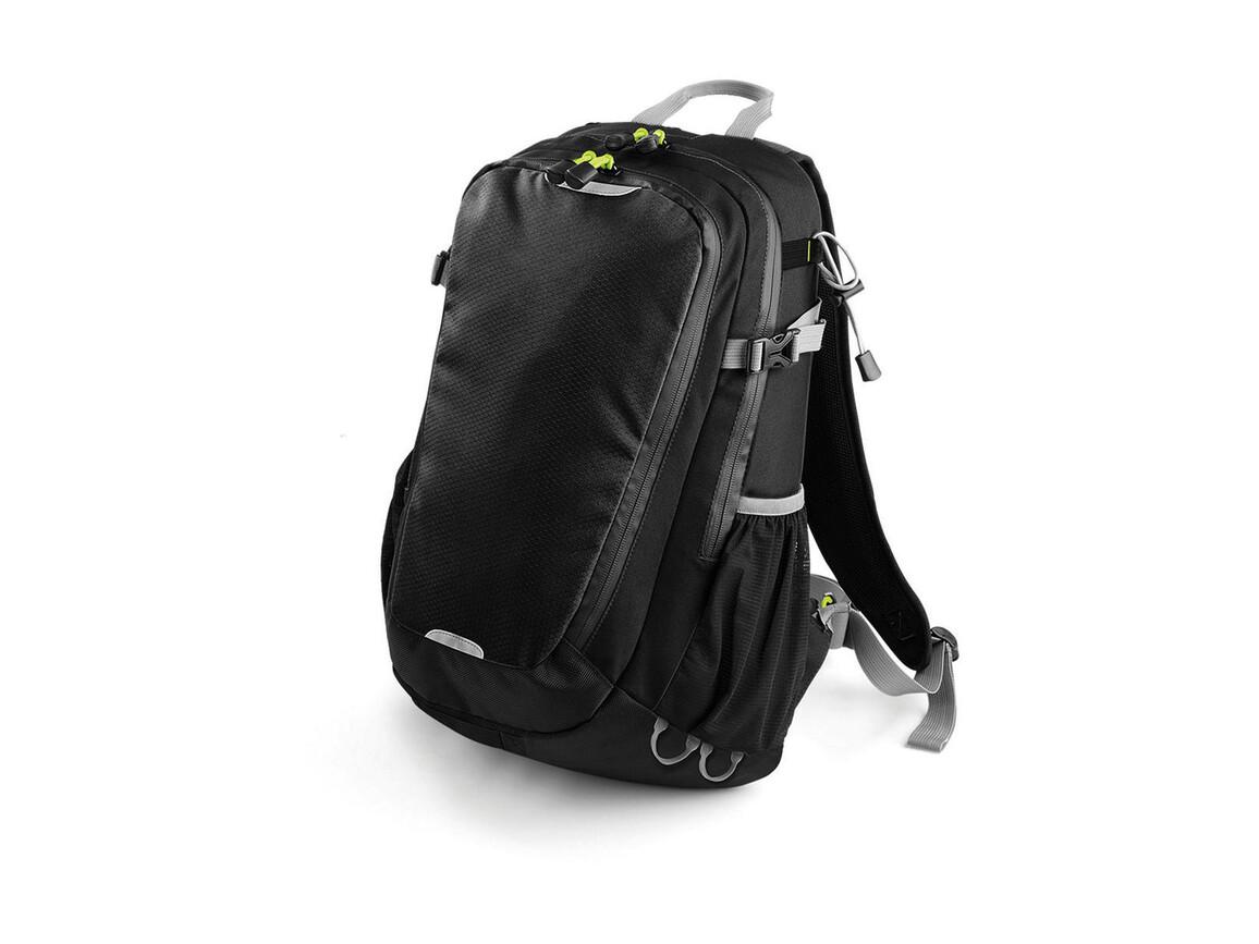 Quadra SLX 20 Litre Daypack, Black, One Size bedrucken, Art.-Nr. 020301010