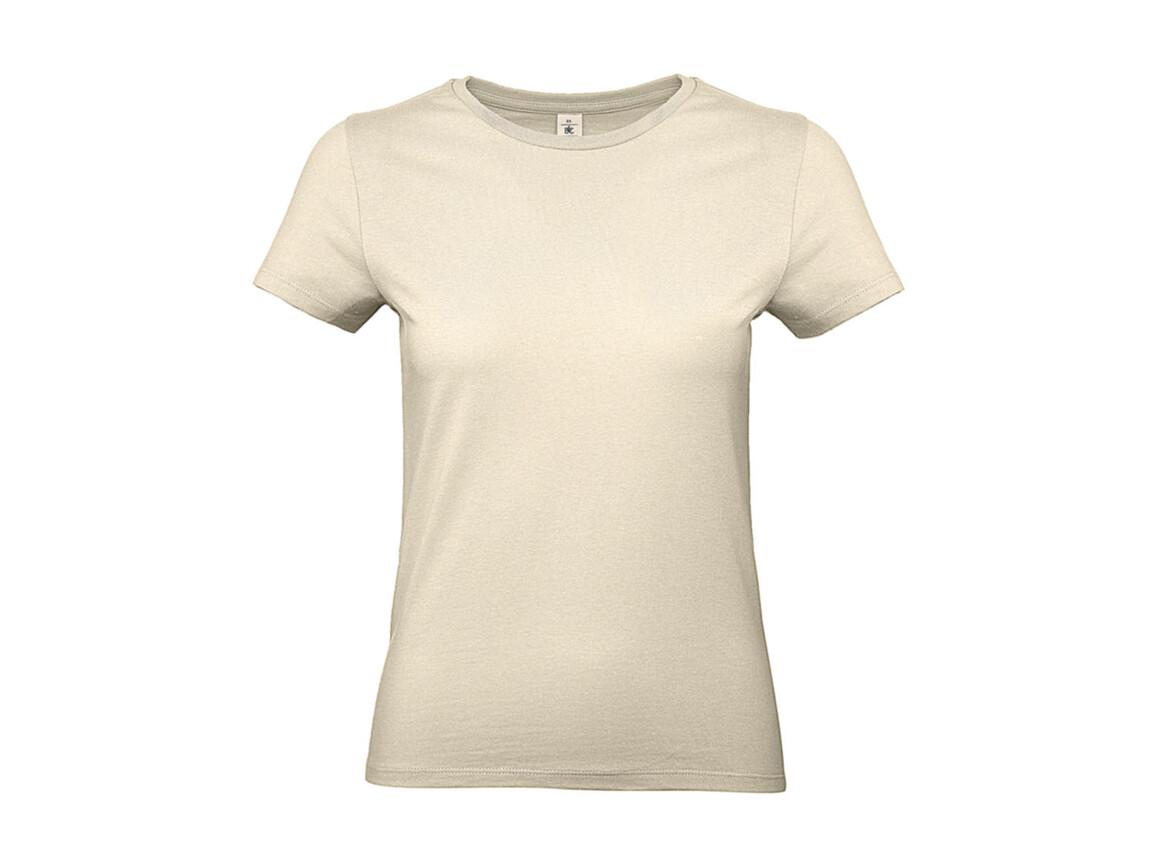 B & C #E190 /women T-Shirt, Natural, S bedrucken, Art.-Nr. 020420083