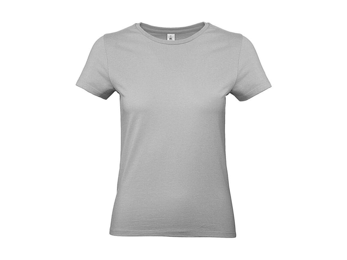 B & C #E190 /women T-Shirt, Pacific Grey, S bedrucken, Art.-Nr. 020421353