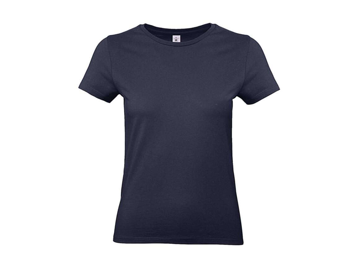 B & C #E190 /women T-Shirt, Urban Navy, M bedrucken, Art.-Nr. 020422074