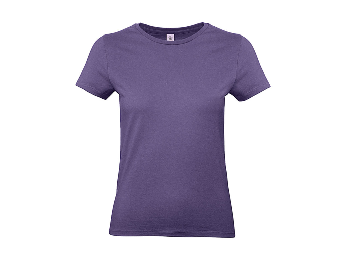 B & C #E190 /women T-Shirt, Millenial Lilac, M bedrucken, Art.-Nr. 020423094