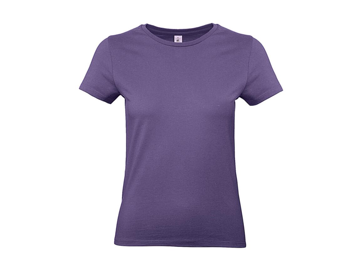 B & C #E190 /women T-Shirt, Millenial Lilac, XS bedrucken, Art.-Nr. 020423092