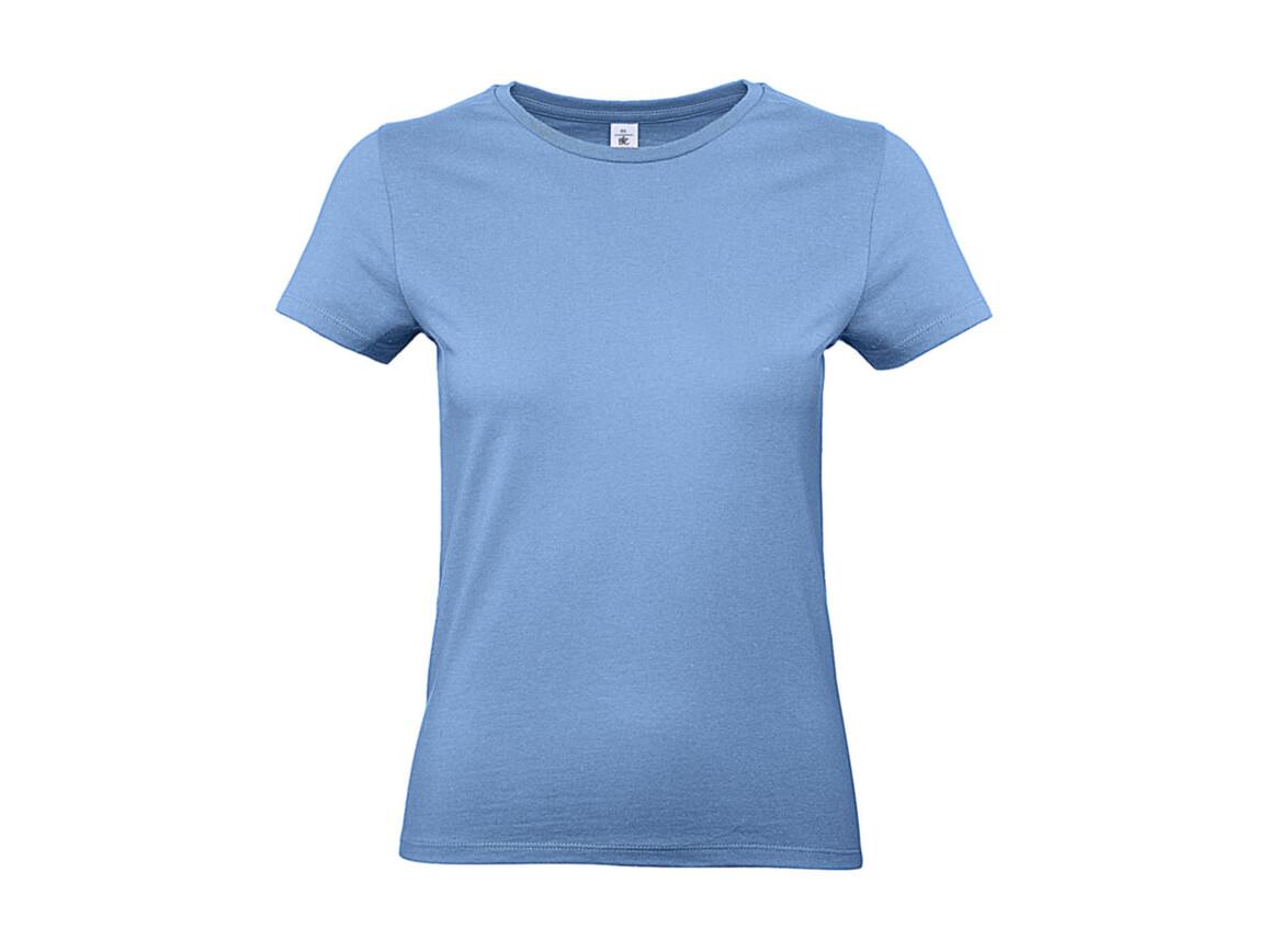 B & C #E190 /women T-Shirt, Sky Blue, S bedrucken, Art.-Nr. 020423203