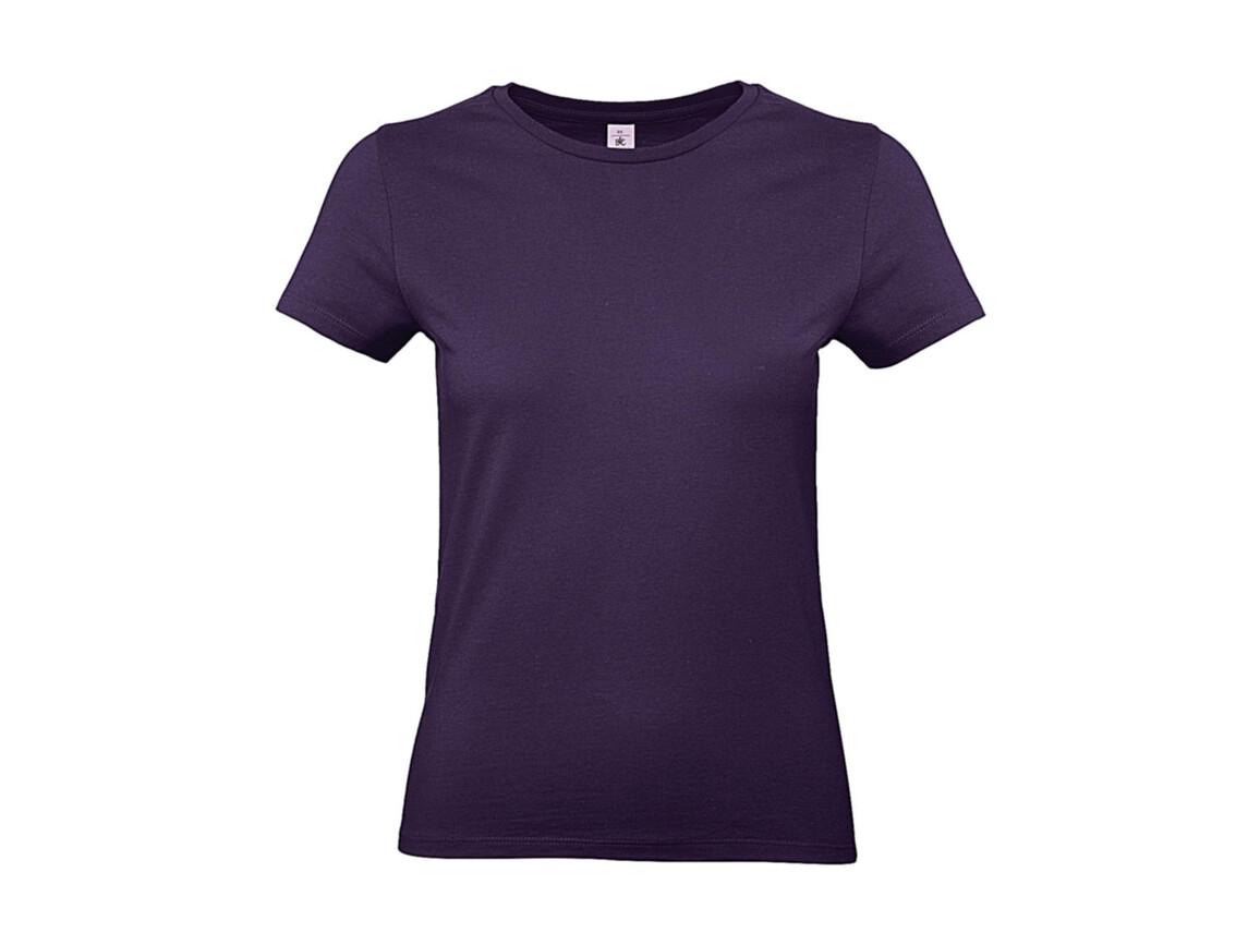 B & C #E190 /women T-Shirt, Radiant Purple, 2XL bedrucken, Art.-Nr. 020423467