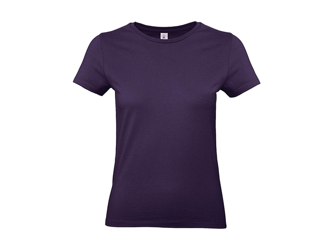 B & C #E190 /women T-Shirt, Radiant Purple, S bedrucken, Art.-Nr. 020423463