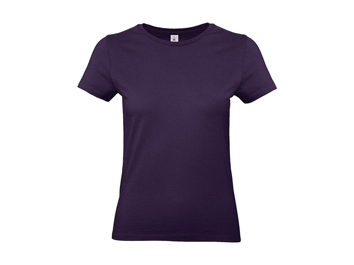 B & C #E190 /women T-Shirt, Urban Purple, XL bedrucken, Art.-Nr. 020423476