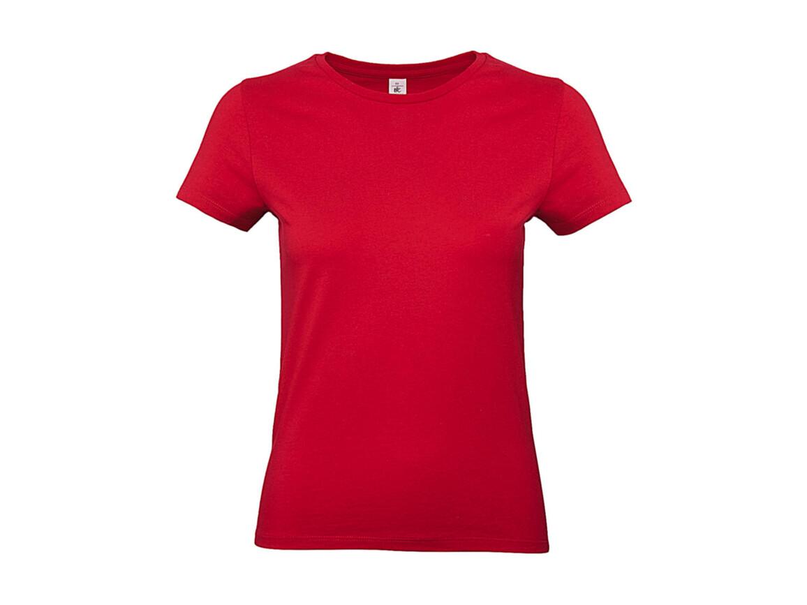 B & C #E190 /women T-Shirt, Red, M bedrucken, Art.-Nr. 020424004