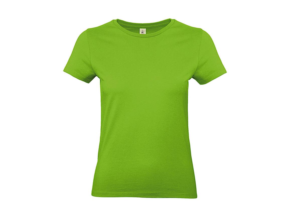 B & C #E190 /women T-Shirt, Orchid Green, XL bedrucken, Art.-Nr. 020425066