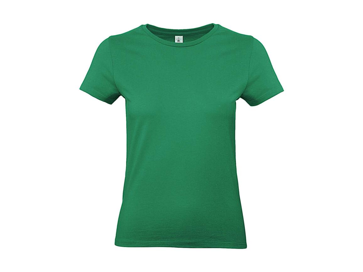 B & C #E190 /women T-Shirt, Kelly Green, XL bedrucken, Art.-Nr. 020425186