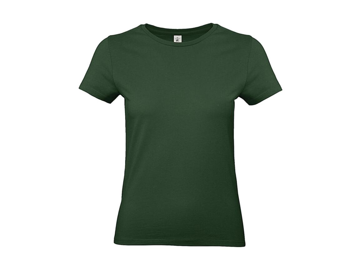 B & C #E190 /women T-Shirt, Bottle Green, L bedrucken, Art.-Nr. 020425405