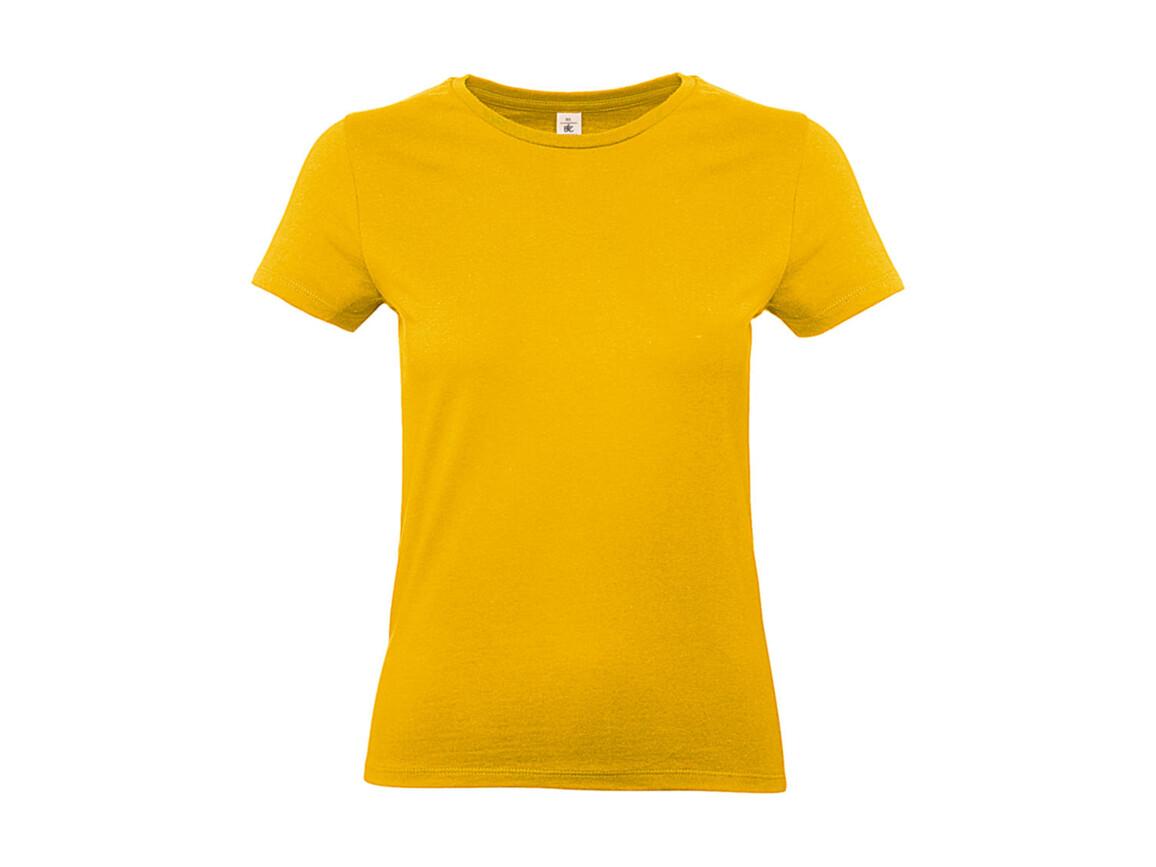 B & C #E190 /women T-Shirt, Gold, XL bedrucken, Art.-Nr. 020426436