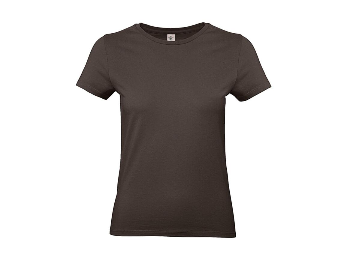 B & C #E190 /women T-Shirt, Brown, XS bedrucken, Art.-Nr. 020427002