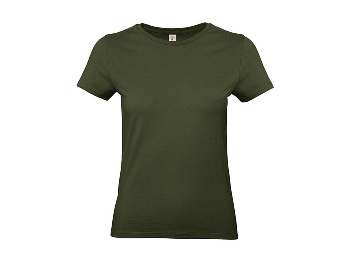B & C #E190 /women T-Shirt, Urban Khaki, XL bedrucken, Art.-Nr. 020427366