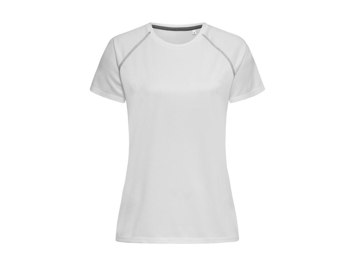 Stedman Active Team Raglan Women, White, L bedrucken, Art.-Nr. 021050005