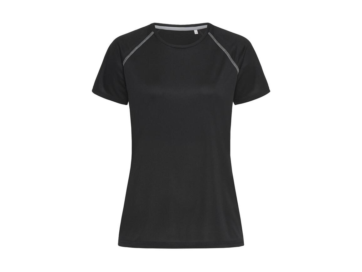 Stedman Active Team Raglan Women, Black Opal, XL bedrucken, Art.-Nr. 021051026