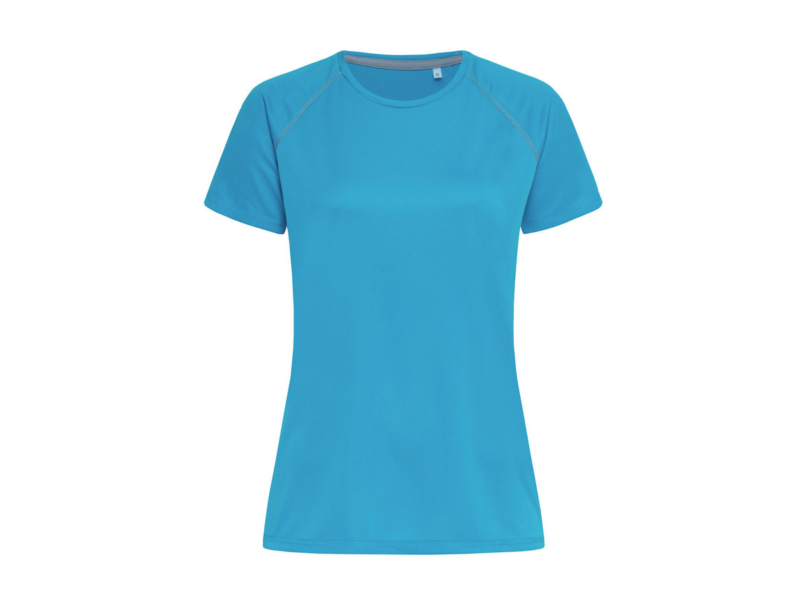 Stedman Active Team Raglan Women, Hawaii Blue, L bedrucken, Art.-Nr. 021053165