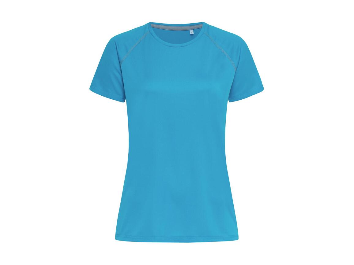 Stedman Active Team Raglan Women, Hawaii Blue, XL bedrucken, Art.-Nr. 021053166