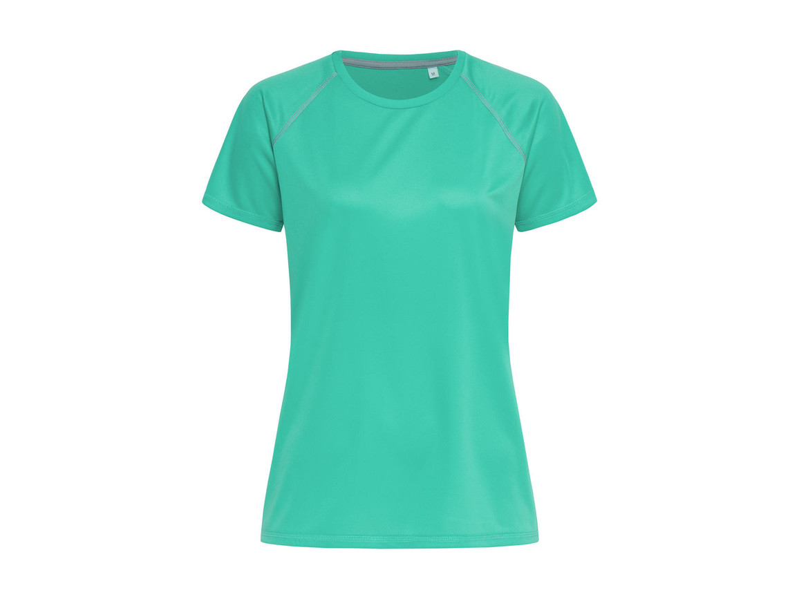 Stedman Active Team Raglan Women, Bahama Green, XL bedrucken, Art.-Nr. 021055206