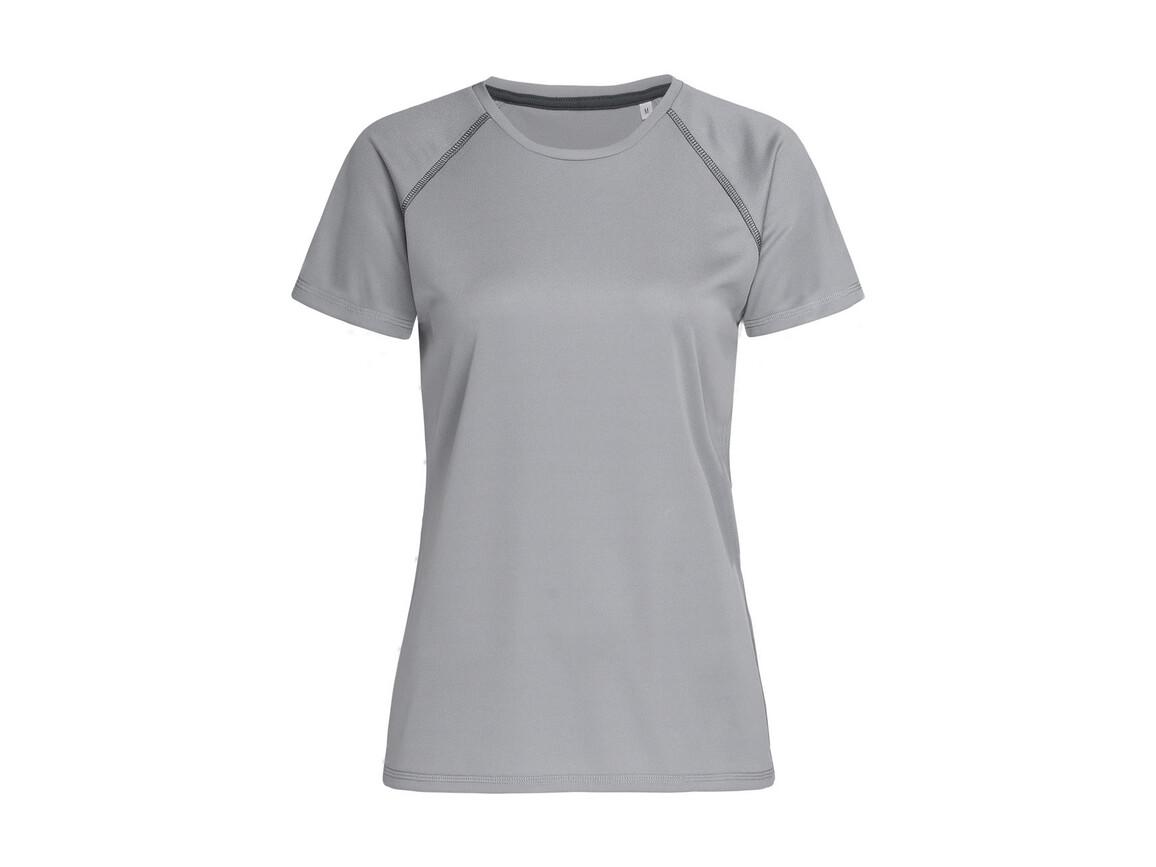 Stedman Active Team Raglan Women, Silver Grey, M bedrucken, Art.-Nr. 021057134