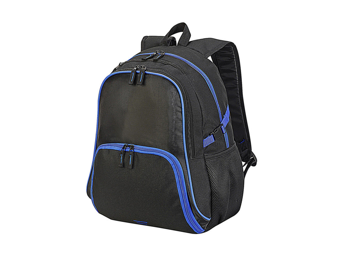 Shugon Kyoto Ultimate Backpack, Black/Royal, One Size bedrucken, Art.-Nr. 023381730