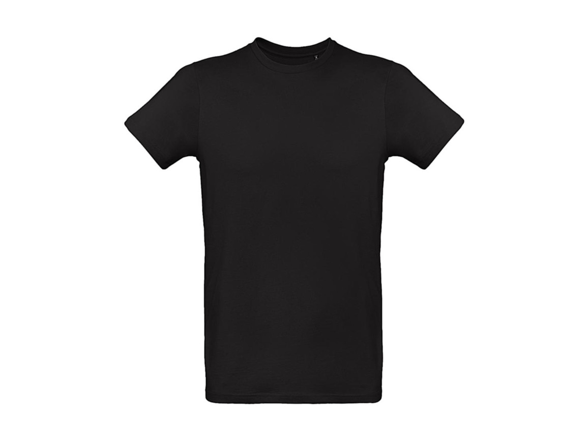 B & C Inspire Plus T /men T-Shirt, Black, 2XL bedrucken, Art.-Nr. 023421017