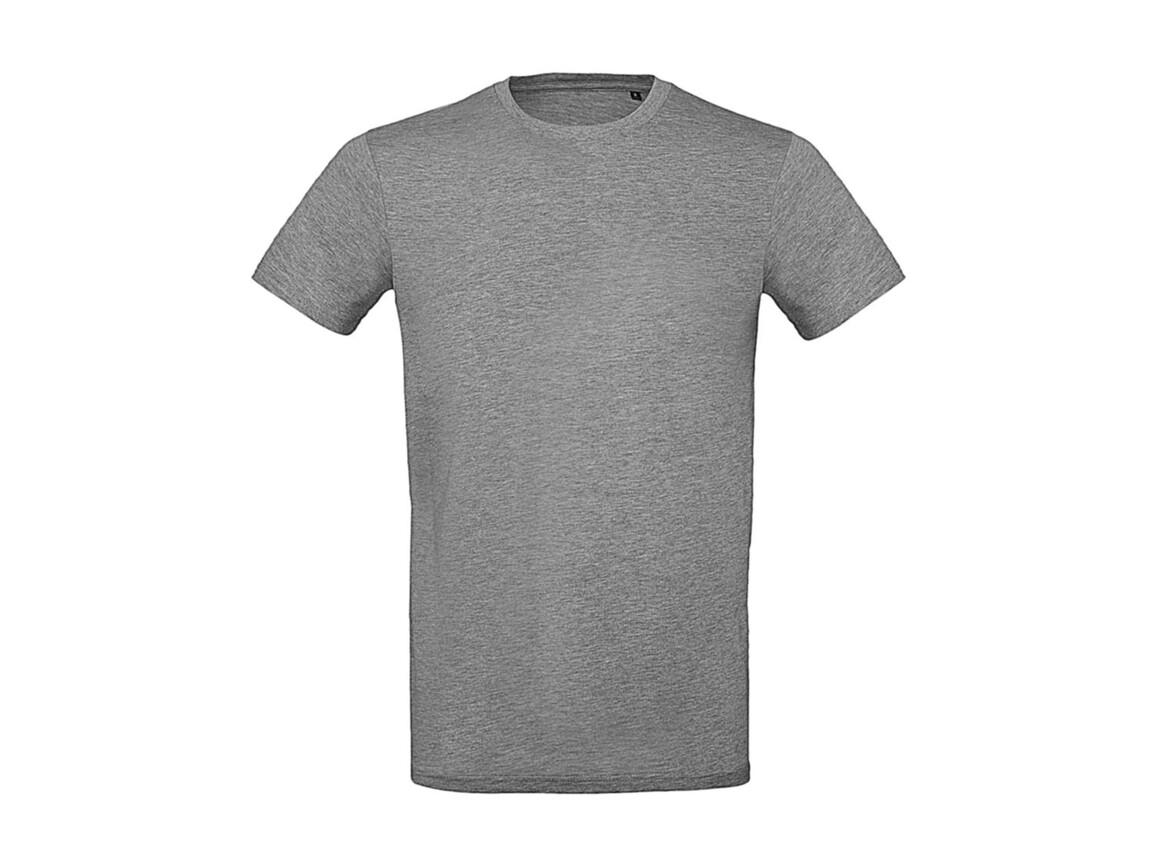 B & C Inspire Plus T /men T-Shirt, Sport Grey, L bedrucken, Art.-Nr. 023421235