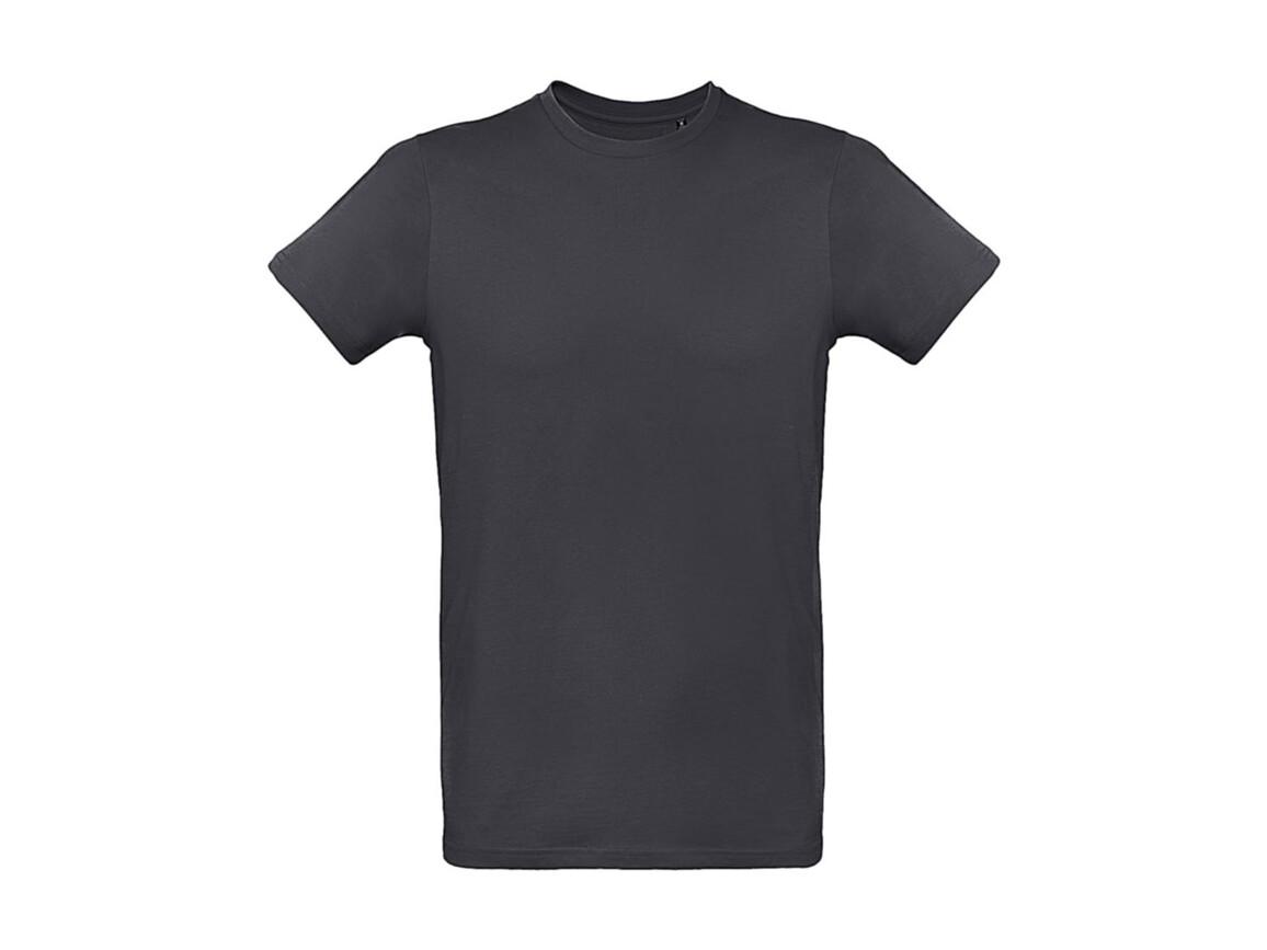 B & C Inspire Plus T /men T-Shirt, Dark Grey, M bedrucken, Art.-Nr. 023421284