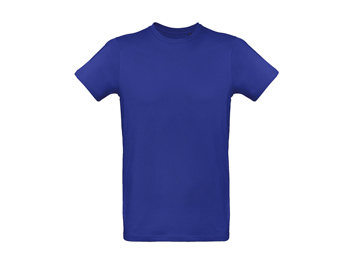 B & C Inspire Plus T /men T-Shirt, Cobalt Blue, L bedrucken, Art.-Nr. 023423075