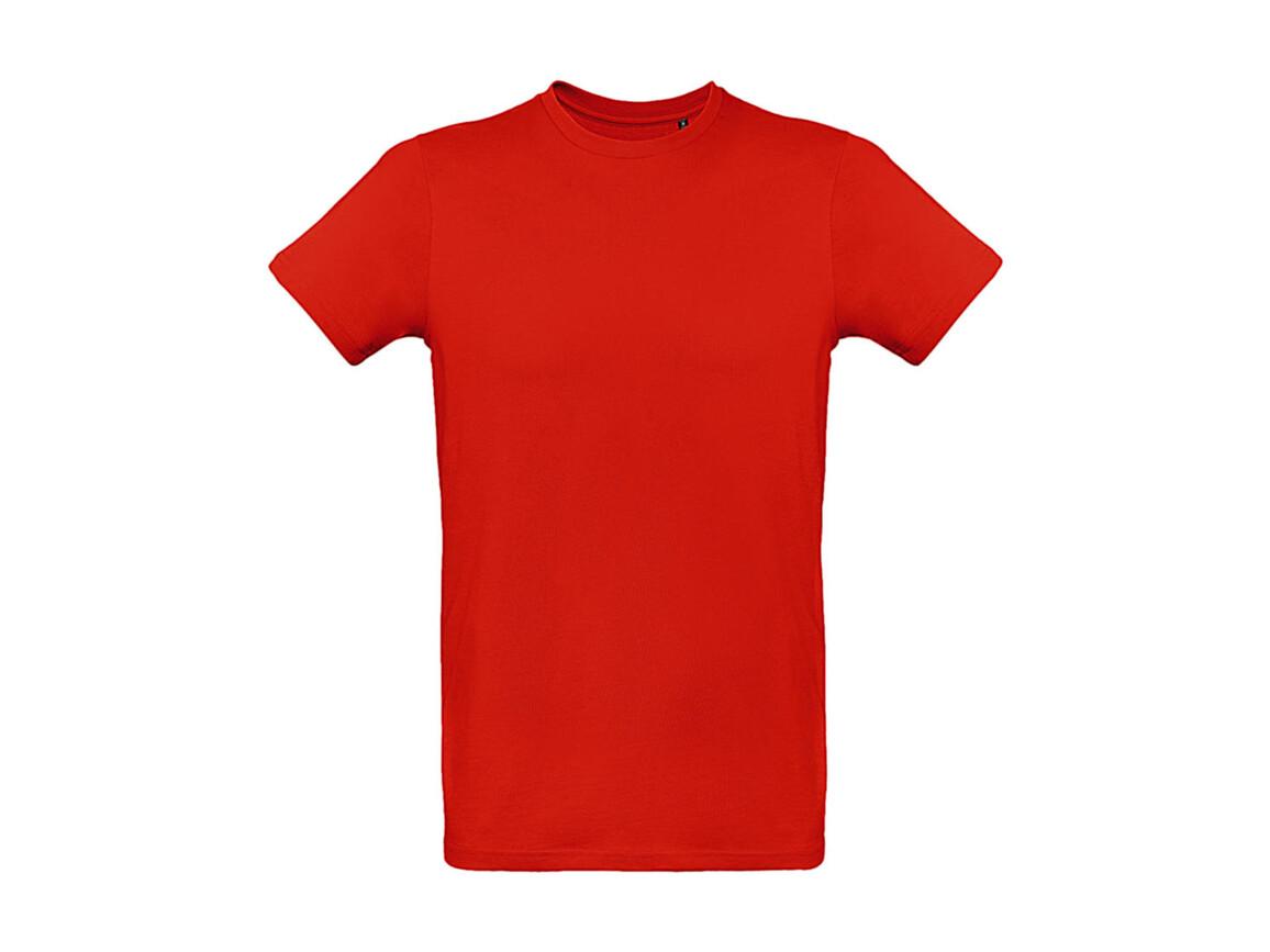 B & C Inspire Plus T /men T-Shirt, Fire Red, XL bedrucken, Art.-Nr. 023424076