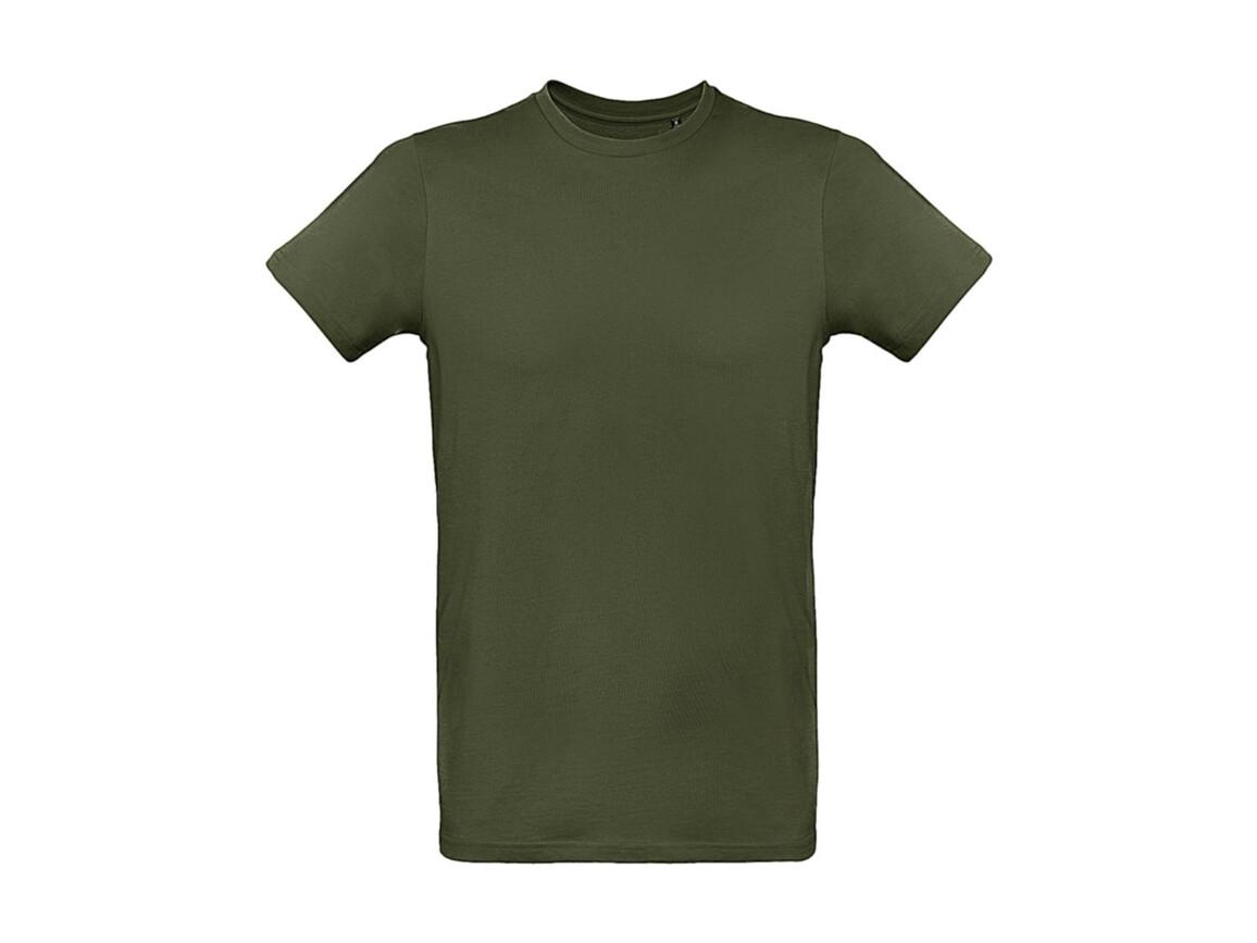 B & C Inspire Plus T /men T-Shirt, Urban Khaki, L bedrucken, Art.-Nr. 023427365
