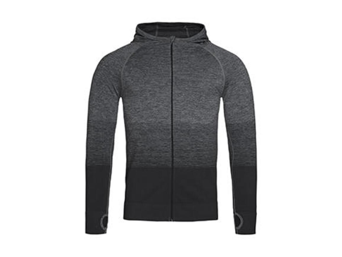 Stedman Active Seamless Jacket Men, Dark Grey Transition, XL bedrucken, Art.-Nr. 024051616
