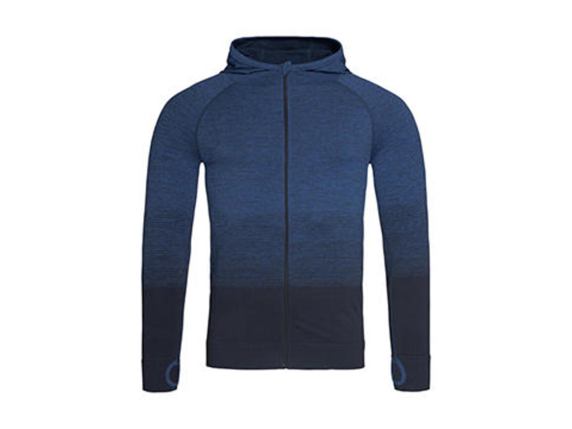 Stedman Active Seamless Jacket Men, Blue Transition, XL bedrucken, Art.-Nr. 024053096