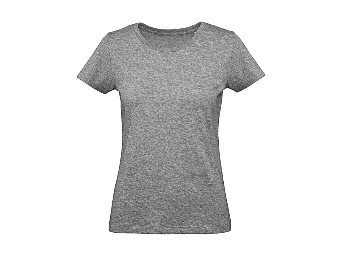 B & C Inspire Plus T /women T-Shirt, Sport Grey, M bedrucken, Art.-Nr. 024421234