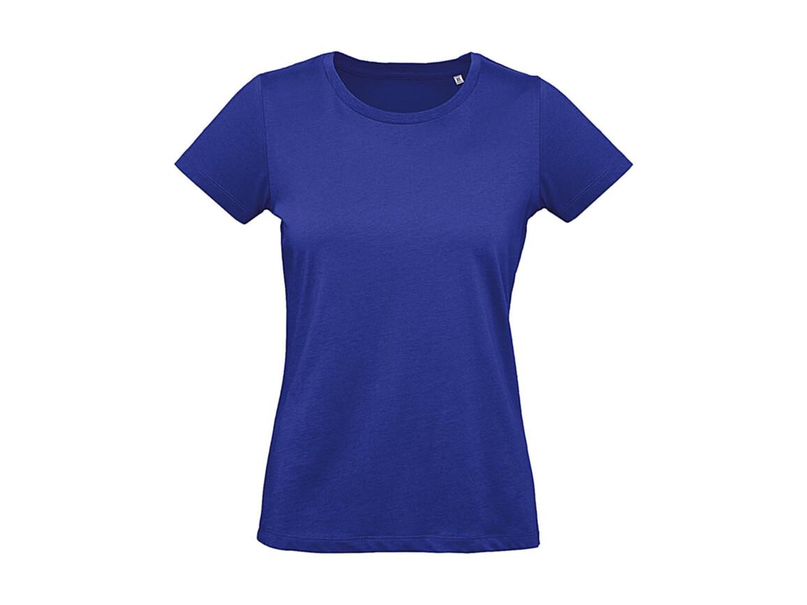 B & C Inspire Plus T /women T-Shirt, Cobalt Blue, M bedrucken, Art.-Nr. 024423074