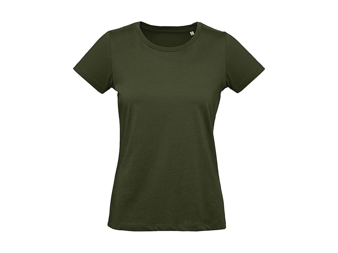 B & C Inspire Plus T /women T-Shirt, Urban Khaki, S bedrucken, Art.-Nr. 024427363