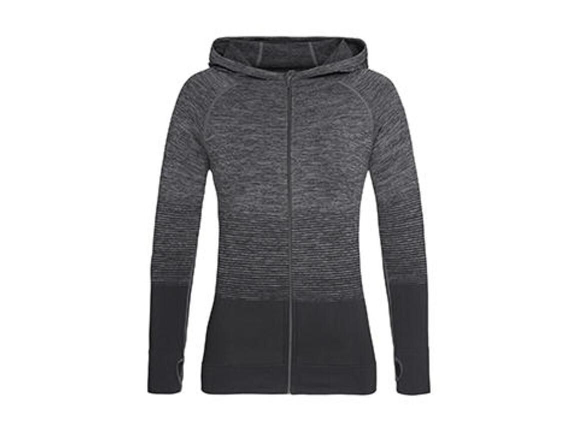 Stedman Active Seamless Jacket Women, Dark Grey Transition, L bedrucken, Art.-Nr. 025051615