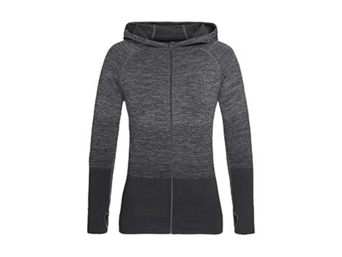 Stedman Active Seamless Jacket Women, Dark Grey Transition, XL bedrucken, Art.-Nr. 025051616