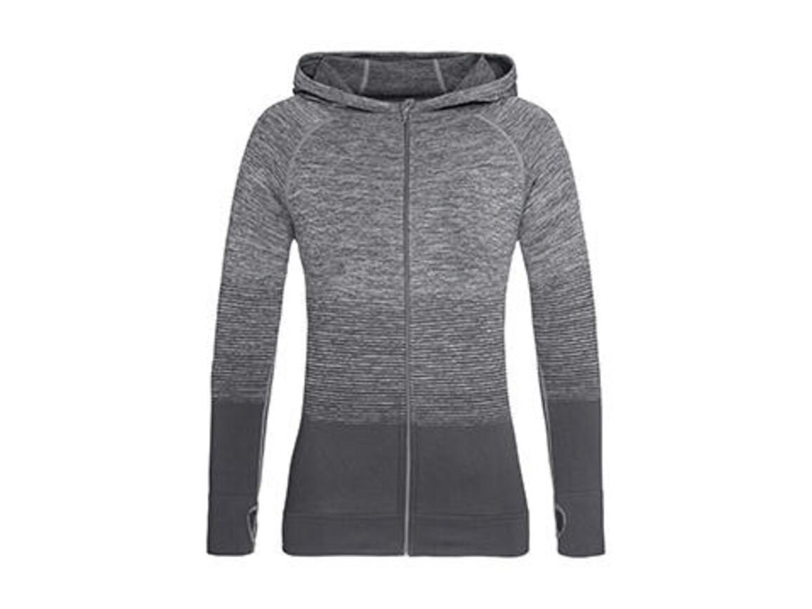 Stedman Active Seamless Jacket Women, Light Grey Transition, M bedrucken, Art.-Nr. 025051624