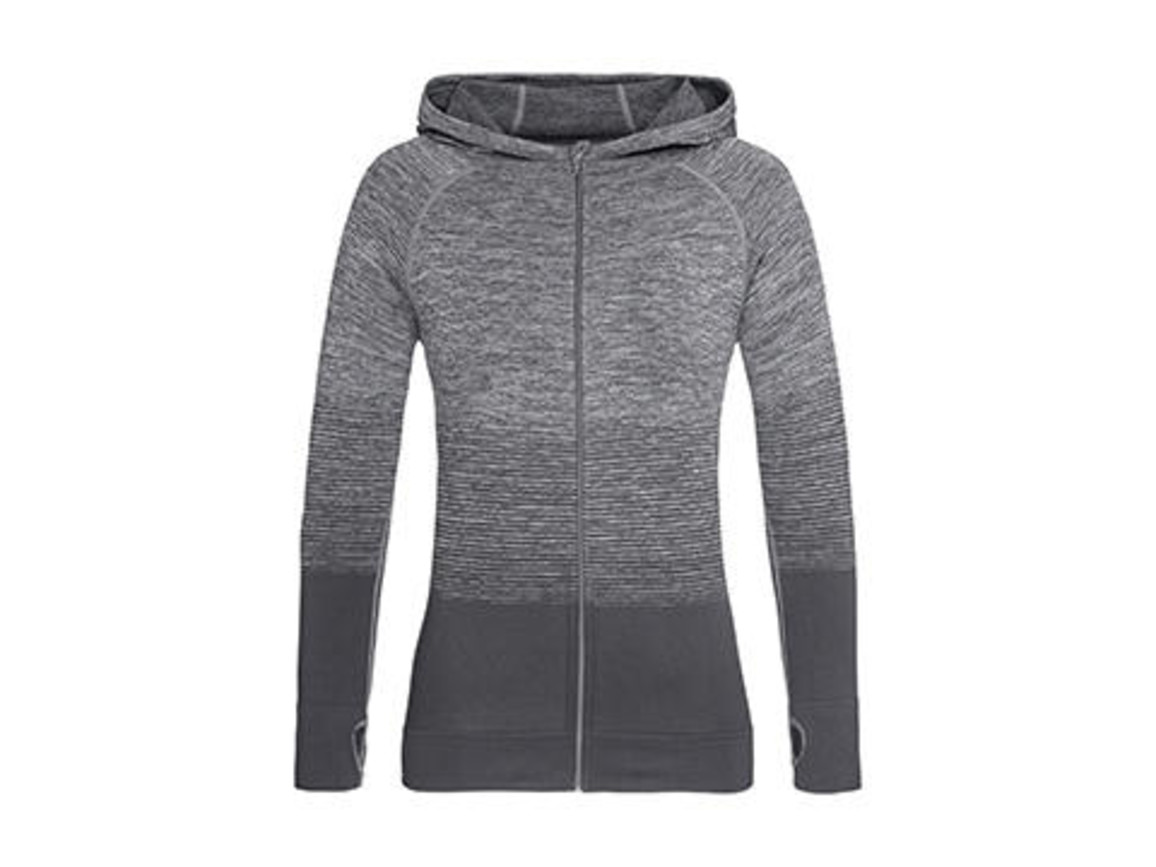 Stedman Active Seamless Jacket Women, Light Grey Transition, XL bedrucken, Art.-Nr. 025051626