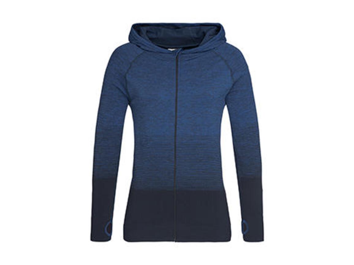 Stedman Active Seamless Jacket Women, Blue Transition, XL bedrucken, Art.-Nr. 025053096