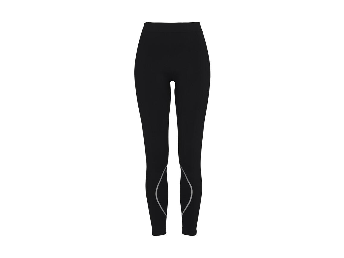 Stedman Active Seamless Pants Women, Black Opal, XL bedrucken, Art.-Nr. 026051026