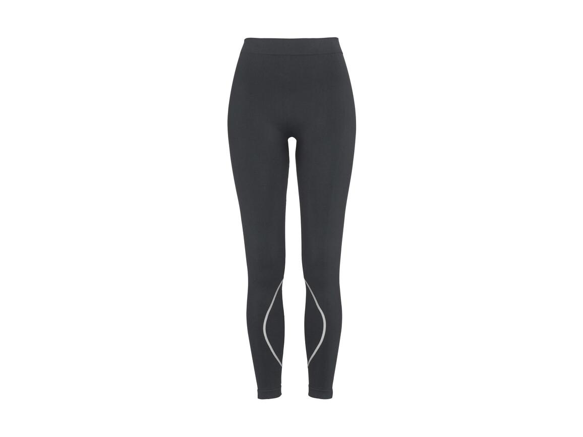 Stedman Active Seamless Pants Women, Grey Steel, M bedrucken, Art.-Nr. 026051444